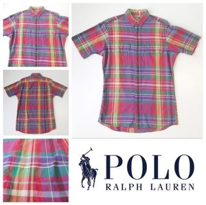 Polo by Ralph Lauren Plaid Button Up Small